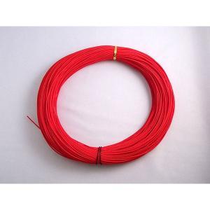 八つ編(赤) 40号 100m カツオコード ナイロン芯 丸二テグス|yamakazufishing