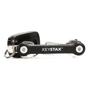 KEYSMART キースマート KEYSTAX ブラック 15011 キーリング|yamakei02