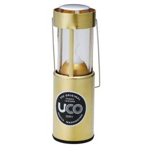 UCO ユーコ キャンドルランタン/ブラス 24350 キャンドルランタン ゴールド|yamakei02