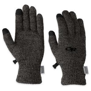 fc9455dc6b44 Outdoor Research アウトドアリサーチ ORWomensBiosensorLiners/charcoal/L 19497079 手袋  女性用 グレー