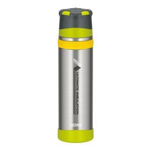 THERMOS サーモス 新製品「山専ボトル」ステンレスボトル/0.9L/ライムグリーン LMG F...