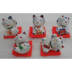 福を招く福猫 5匹セットで大放出|yamaki-netshop