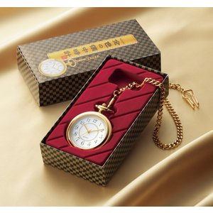金色の懐中時計