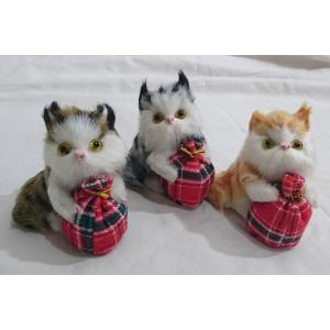 ネコの置物 3匹セット|yamaki-netshop