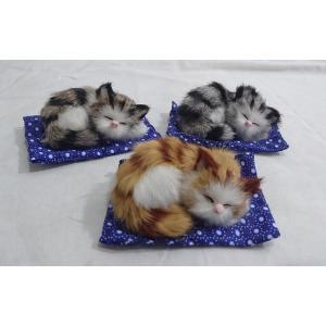 うたた寝キャット 3匹セット|yamaki-netshop