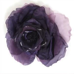 髪飾り 成人式 花 和装 振袖 大きめ コサージュ|yamaki