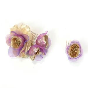 髪飾り 成人式 花 和装 振袖 ドレス|yamaki