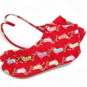足袋 柄足袋 ダックスフンド|yamaki