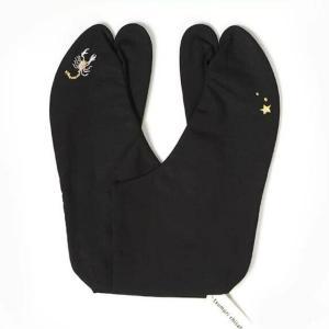足袋 tsumori chisato 刺繍足袋(黒)蠍座 国産品|yamaki
