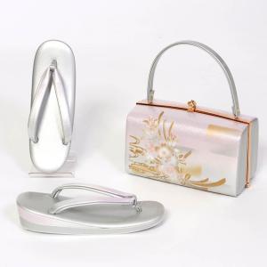 草履バッグセット 礼装 訪問着 振袖 フリーサイズ 日本製 yamaki