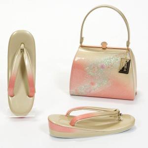 草履バッグセット 礼装用 フォーマル 本革 フリーサイズ 日本製 yamaki