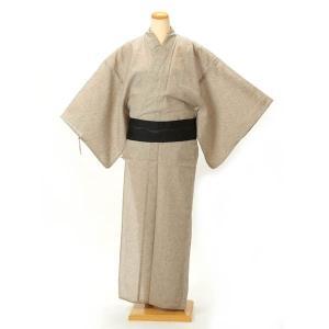 浴衣 メンズ 綿・麻 ワンタッチ帯が付いた3点セット M L LLサイズ|yamaki