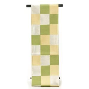袋帯 振袖用 正絹 西陣織 成人式 ママ振り お仕立て付き 日本製|yamaki