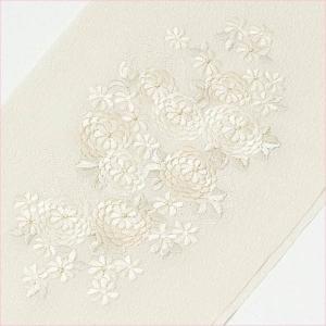 半衿 刺繍 菊 日本製|yamaki