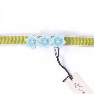 帯留め 花|yamaki