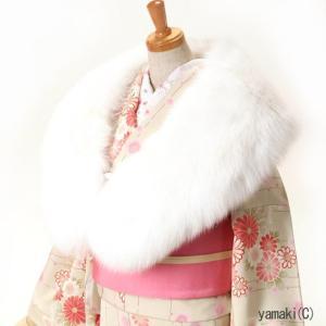 ショール SAGA FOX シャドーフォックス 着物ショール|yamaki