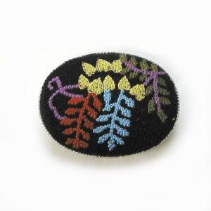 帯留 さがら刺繍|yamaki