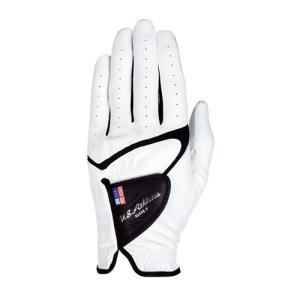 LEZAX(レザックス) U.S.Athlete USGL-5656 羊革×合成皮革手袋 ゴルフグローブ 左手用 WH(ホワイト)・M|yamakishi
