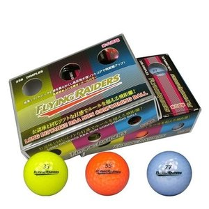 LEZAX(レザックス) 非公認ゴルフボール カラー 6P|yamakishi