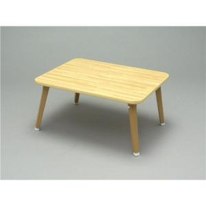 武田コーポレーション 折りたたみテーブル ちゃぶ台 持ち運び 軽量 アウトドア ローテーブル W60×D45×H29cm OTB-6045NAの写真