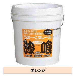 日本プラスター うま〜くヌレール オレンジ色 18kg yamakishi