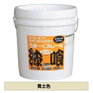 日本プラスター うま〜くヌレール 黄土色 18kg yamakishi