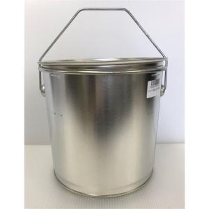 西部容器 テーパー丸缶 フタ付き 3L|yamakishi