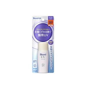 ●汗ばんでもベタつかない、化粧くずれを防ぐ顔用UVミルク<br>●皮脂テカリを防ぐ「皮脂...