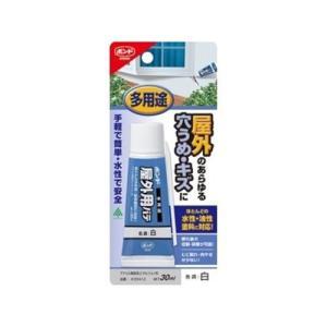 コニシ ボンド 屋外用パテ(アクリル樹脂系エマルジョン形充てん材) 30ml|yamakishi