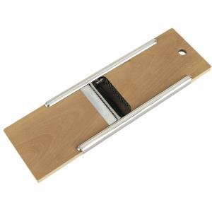 貝印 千切りスライサー木製両面千切・ツマ切kaiHouseSELECT DH7084