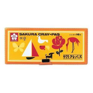 サクラクレパス クレパス太巻16色(ソフトケース入り) LP-16S|yamakishi