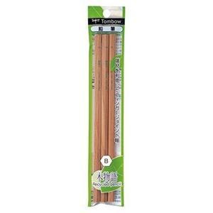 トンボ鉛筆 木物語リサイクル鉛筆・軸色:六角軸(B)鉛筆 [PKLA-KEAB3P]3本入り|yamakishi
