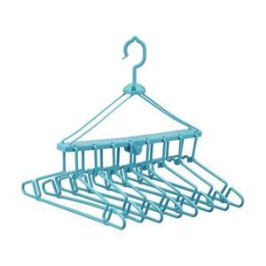 レック 折りたたみ 8連ハンガー(洗濯ハンガー) B