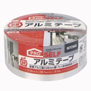 ニトムズ 耐熱アルミテープ P‐11HT 38.1mm×9.14m J3010|yamakishi