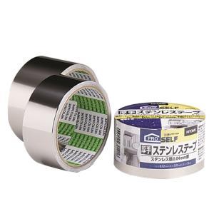 ニトムズ 厚手ステンレステープ P‐12 50mm×5m J3190|yamakishi