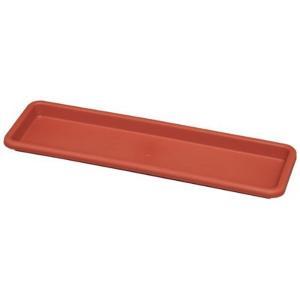 アイリスオーヤマ レリーフプランター受皿 650 テラコッタブラウン