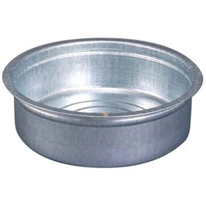 北陸土井工業 ヒシエス トタン タライ 60cm (金属 たらい)