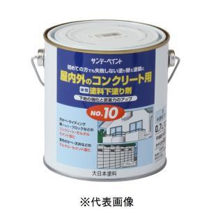 サンデーペイント 水性 塗料下塗り剤No.10 半透明ブルー 7L|yamakishi