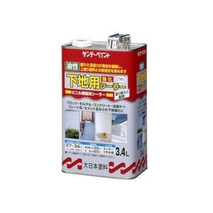 サンデーペイント 油性 下地用強化シーラー 3.4L|yamakishi