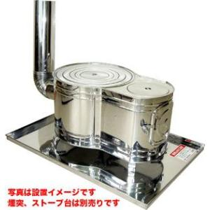 HONMA ホンマ製作所 ステンレス時計1型薪ストーブ AS-60 12289|yamakishi