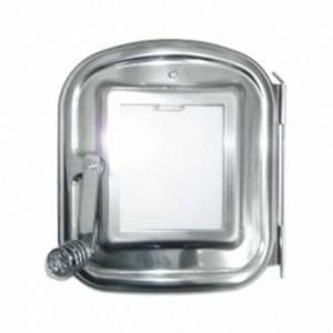 HONMA ホンマ製作所 時計型薪ストーブ用 ガラス付き替え扉 ASW-GK 17001|yamakishi