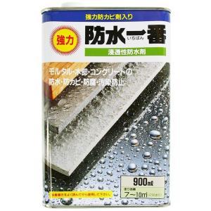 日本特殊塗料 防水一番・浸透性防水材 【900ml】|yamakishi