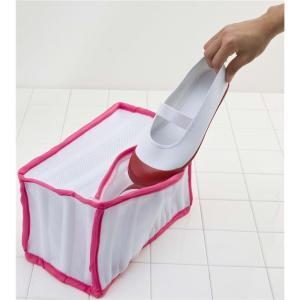 ファイン シューズ洗濯ネット ピンク P ピンク