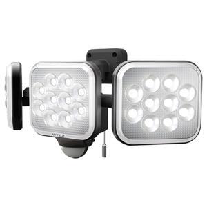 RITEX 12W×3灯フリーアーム式LEDセンサーライト ...