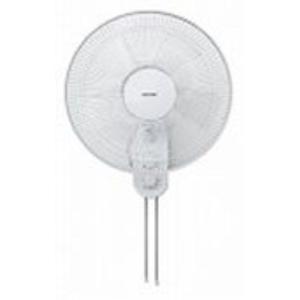 TEKNOS テクノス 40cm壁掛けメカ扇風機(ヒモ式スイッチ) ホワイト ビッグサイズ壁掛け扇 KI-W422|yamakishi