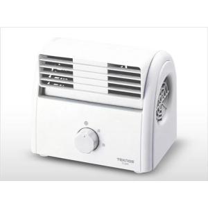 TEKNOS テクノス デスクファン(卓上扇風機) ホワイト TI-2001
