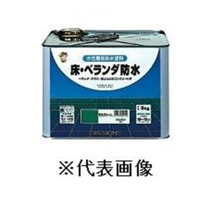 ロックペイント 床・ベランダ防水(グレー) 【4kg】|yamakishi