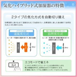 アイリスオーヤマ 気化ハイブリッド式加湿器(イオン機能付) ARK-700Z-N yamakishi 04