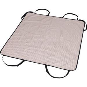 ●サイズ(約):幅130×奥行135cm ●取り付け簡単、ヘッドレストにひっかけるだけで使えるドライ...