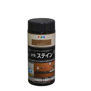 アサヒペン 水性ステインダークオーク 300ml|yamakishi